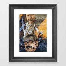 Psychoactive Bear 1 Framed Art Print