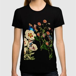 Big Flowers dream pink T-shirt