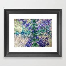 Waking and Dreaming Framed Art Print