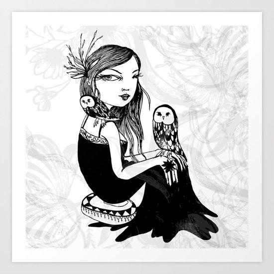 My Girl Art Print