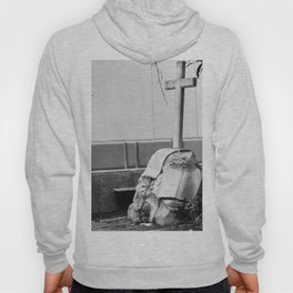 Grave with rose Hoody