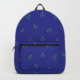 Fun and Whimsical Anchors for Sea Lovers Backpack