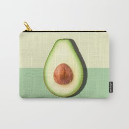 Avocado Half Slice Carry-All Pouch