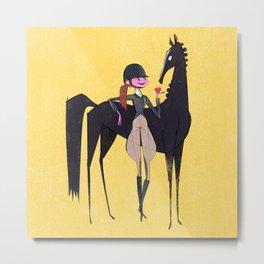 Equestrian Metal Print