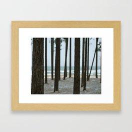 Little Presque Isle  Framed Art Print