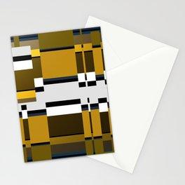 Metallic Glitch Stationery Cards