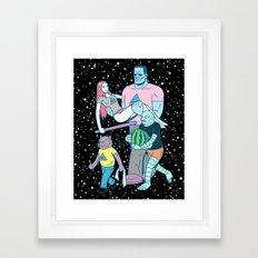 Midnight Parade Framed Art Print