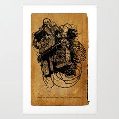 Gospel Machine #1 Art Print