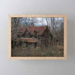 Abandoned Homestead Framed Mini Art Print