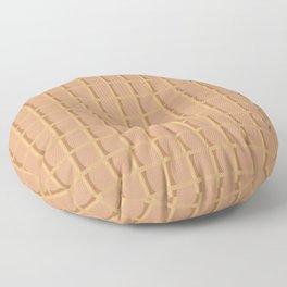 Life Is Sweet Stroopwafel Floor Pillow