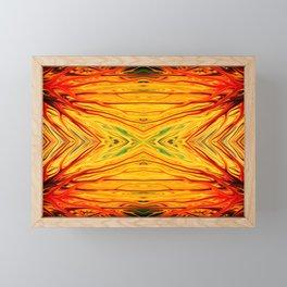 Orange Firethorn Quad III by Chris Sparks Framed Mini Art Print