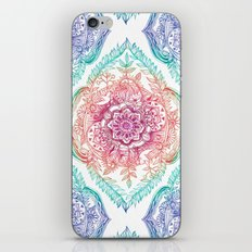 Indian Ink - Rainbow version iPhone & iPod Skin