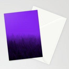 Purple Fog - 2 Stationery Cards