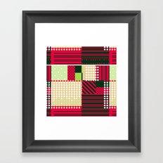 70s Watermelon Framed Art Print