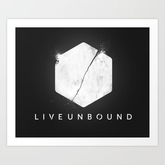 The Logo Art Print