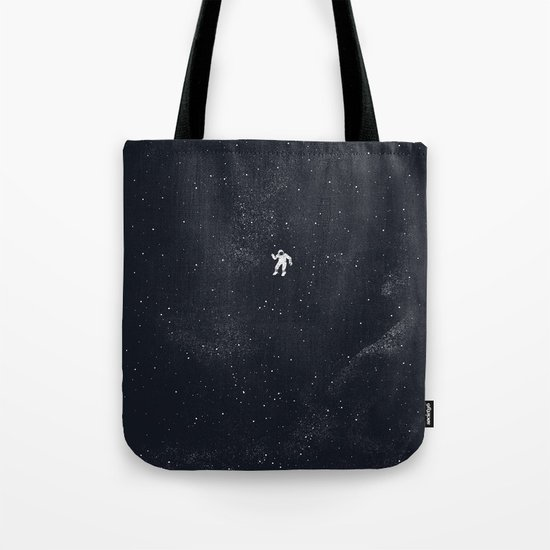 Gravity - Dark Blue Tote Bag