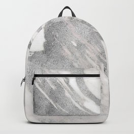 Castello silver marble Backpack