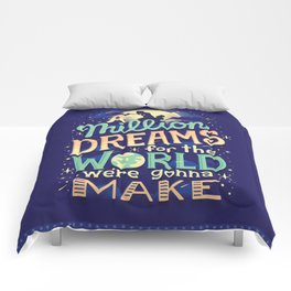A Million Dreams Comforters