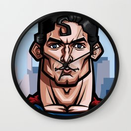 Christopher Reeve, The Superman Caricature Wall Clock