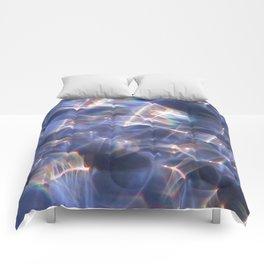 Glassy Refraction 2 Comforters