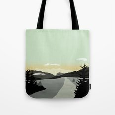 Misty Mountain II Tote Bag