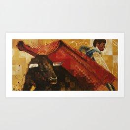 Toro Y Matador Art Print