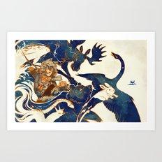 A Distant Dream - Kaukainen Uni Art Print