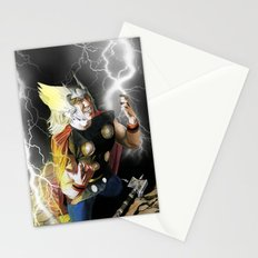 Ride the Lighting Stationery Cards