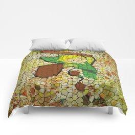 """It's Never Too Dangerous... (Homage To Link from """"The Legend Of Zelda"""") Comforters"""