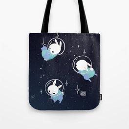 Space Bunnies Tote Bag