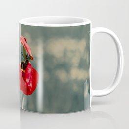 Lonely Red Flower Coffee Mug