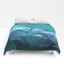Underwater Crystals Comforters