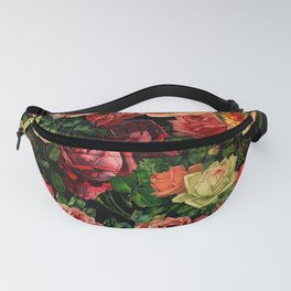 Vintage & Shabby chic - floral roses flowers rose Fanny Pack