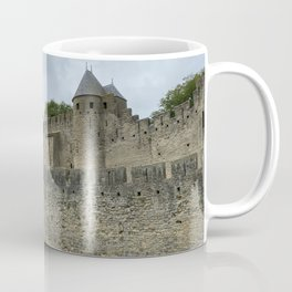 outside walls of the City of Carcassonne Coffee Mug
