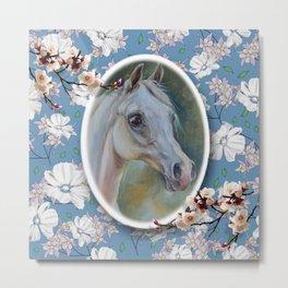 Spring Horse Metal Print