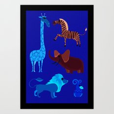 Animal Fever! Art Print