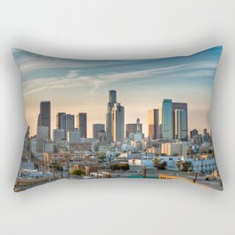 LA Skyline Rectangular Pillow