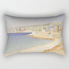 The Jetty at Cassis, Opus 198 Rectangular Pillow