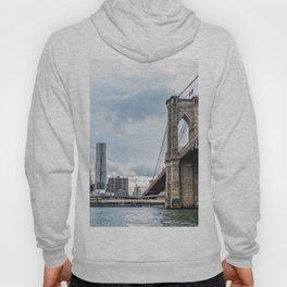 Brooklyn Bridge and Skyline of New York Hoody