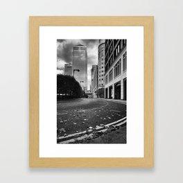 City of Glass Framed Art Print