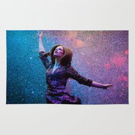 Floating To Space Rug