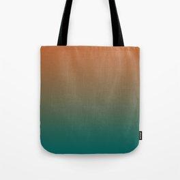 Quetzal Green Meerkat Gradient Pattern Tote Bag