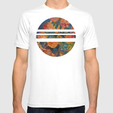 Her 12 Moons MEDIUM White Mens Fitted Tee