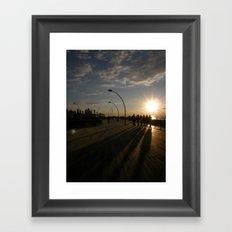Tel Aviv Port #1 Framed Art Print
