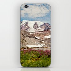 Mount Rainier Hike iPhone & iPod Skin