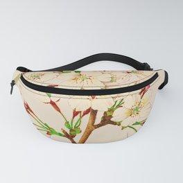 Yoshino Cherry Blossoms ~ Vintage Japan Art Fanny Pack