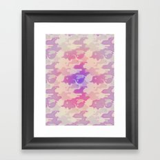 Lava Lamp Lavender  Framed Art Print