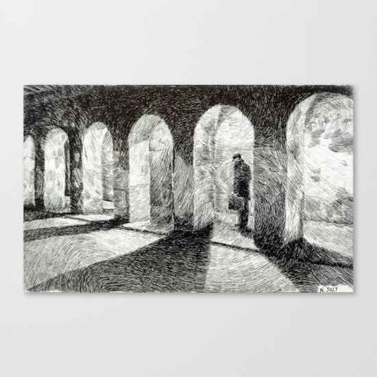 Fingerprint - Arcades Canvas Print