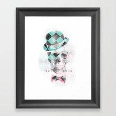 LDN Skull Framed Art Print