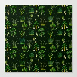Bunny Forest Canvas Print